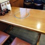 とゝや - テーブル席