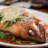 サウスラボ 南方 - 料理写真:2020.1 清蒸石斑(アカハタの醤油蒸し)