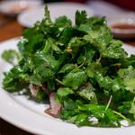 サウスラボ 南方 - 2020.1 南方魚生(さごしとパクチーのカルパッチョサラダ)