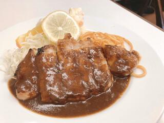 レストラン早川 - ポークソテー1,000円