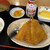 街かど屋 - 料理写真:サービスランチ(あじフライ定食)