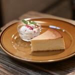 ヱントツコーヒー舎 - NYチーズケーキ☆