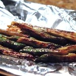 じゅん平 - 鉄板野菜焼き(バターしょうゆ味)アスパラ(390円)