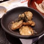 ひびき庵 - 鶏ハム磯辺揚げ