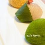 R style by 両口屋是清 -