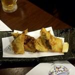 道頓堀 酒処 喜多蔵  - 野菜と肉の春巻き