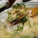 道頓堀 酒処 喜多蔵  - 鯛の出汁茶漬け(冷や汁風)
