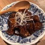 Kozarachuukamomoten - 黒酢の酢豚 700円(税抜)
