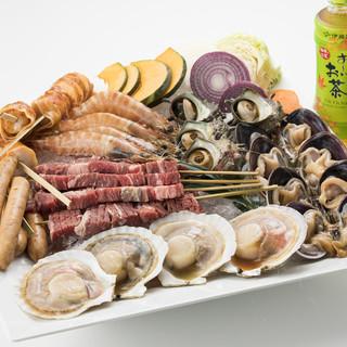 魚太郎 浜焼きバーベキュー
