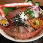 Kaneshou - 海鮮丼アップ