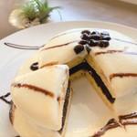 ちゅら海カフェ かふぅ - どらレアパンケーキ