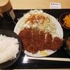 豚屋とん一 - 料理写真:ロースかつ定食 150g