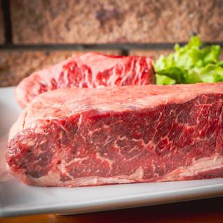 塊肉で仕入れ!ブランド牛の旨味を存分にお楽しみください!