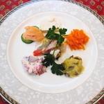 地中海食堂 タベタリーノ - 【2012-03-24】前菜