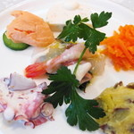 地中海食堂 タベタリーノ - 【2012-03-24】前菜(アップ)