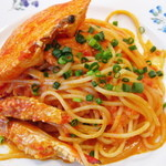 12393814 - 【2012-03-24】パスタ:渡り蟹のパスタ(アップ)