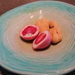 イタリア料理 ターヴォラ ドォーロ - 小菓子