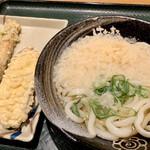 Hanamaruudon - かけ小に芋天と竹輪天