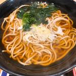 名代 富士そば - かけ蕎麦