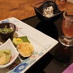 更紗 - 料理写真:一の膳