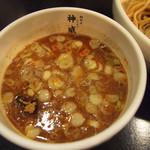 麺創房 神威 - 神威つけ麺 中盛り \880