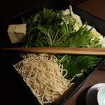 三田獅子丸 - 待ちかまえるお野菜、麺