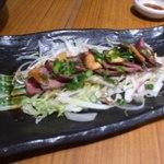 さけぼうず 旬仙 - 牛肉のたたき風ステーキ