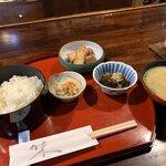 団十郎 - 豚カツ定食1,400円