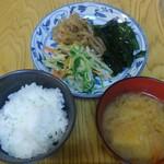 元太○ - 鶏の唐揚げランチ¥700