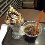 サンマルクカフェ - +アイスコーヒー