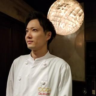 オッジダルマット料理長・登坂涼