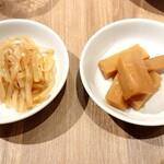 小皿中華 桃天 - 前菜♪