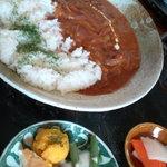 骨董カフェ 和み屋 - ハヤシライス