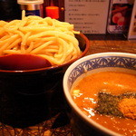 三田製麺所 - つけ麺 (大) (700円)