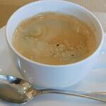 フォーハーツ - ランチセットのドリンク(コーヒー)