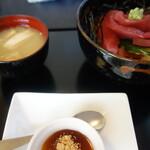 くぼ田 - マグロ丼