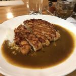 カレー料理の店 白川 - チキンカツカレー