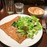 フレンチカフェレストラン 神楽坂 ル コキヤージュ - ガレット オリジナル(1,000円)