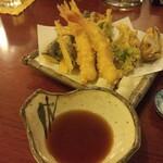 天作 - 天ぷら盛り合わせ