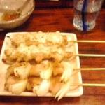 とり粋 - トントロ串とチーズ焼き串1本170円也