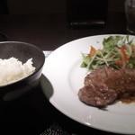 一 - ステーキハウス一の牛ロースステーキランチ1500円