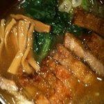 万世拉麺 - 排骨拉麵790円