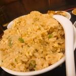 中華料理 龍縁 - 黒酢酢豚定食+炒飯変更(チャーハン)