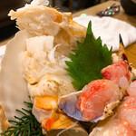 かに愛知屋 - タラバ蟹刺身