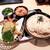 釜ひろ - 天ざるうどんと、かやくご飯