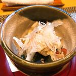 割烹 船生 - 料理写真:先付 数の子の酒粕漬け