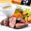シエル - 料理写真:牛ハンギングテンダーステーキ