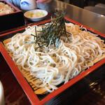 蕎麦司 紅がら - 料理写真:ざるそば 750円