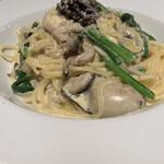 ベルソリーゾ - 料理写真:黒トリュフのカルボナーラ