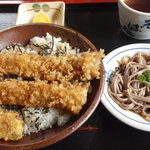 Sobadokohanayamaderashukubou - 穴子天丼